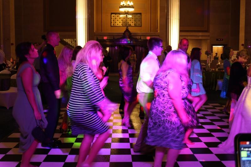 Wedding Reception at The Columns - Memphis