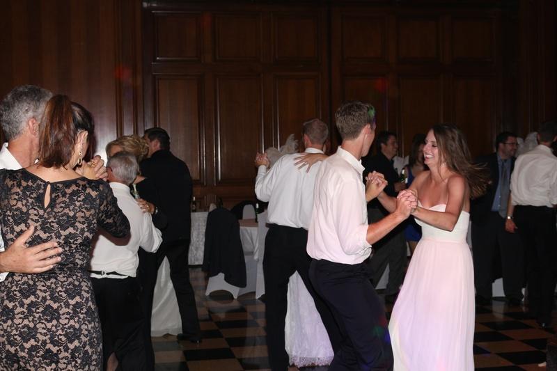 Wedding Reception at The Peabody