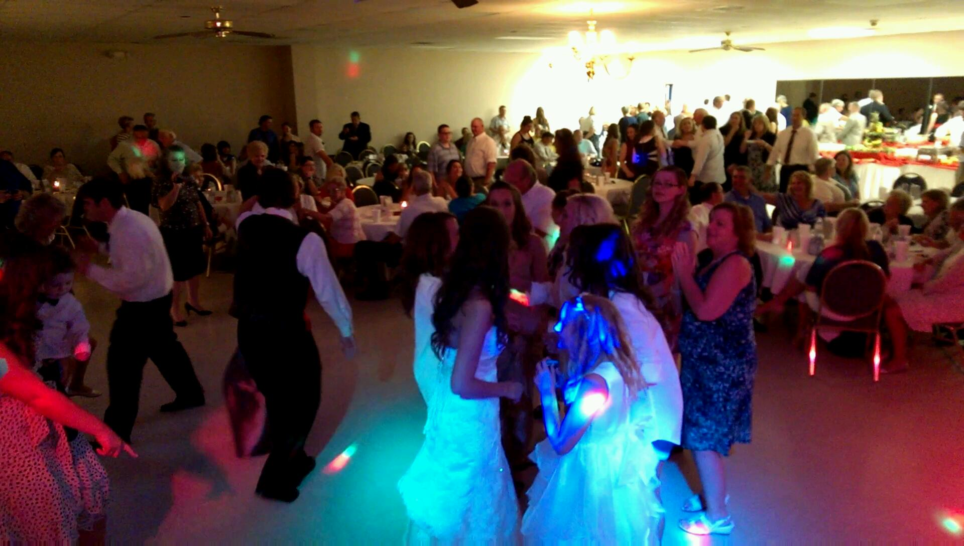 Wedding Reception at Southaven Tennis Center